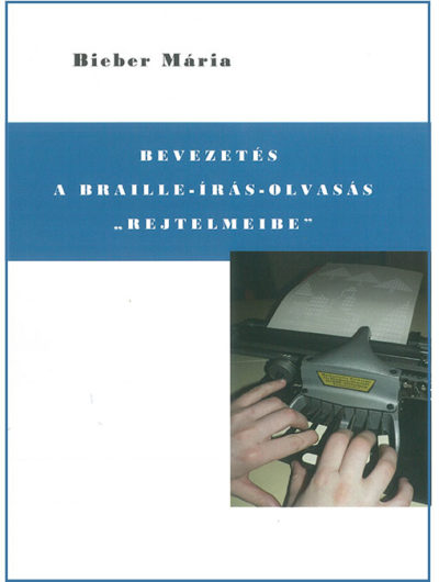 Kép: Bieber Mária könyvének borítója